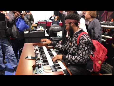 Cory Henry plays