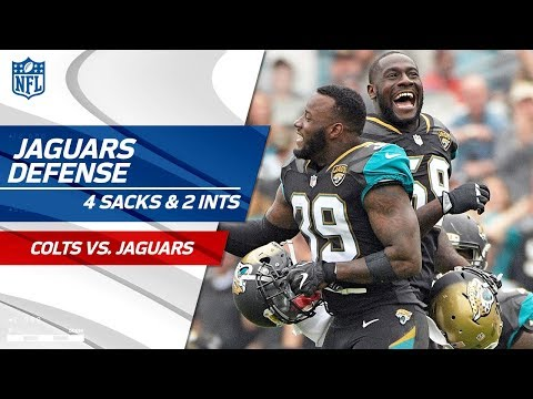 Jacksonville Defense Takes Down Indy w/ 4 Sacks & 2 INTs! | Colts vs. Jaguars | Wk 13 Player HLs