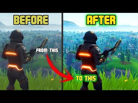 Fortnite Off And On Reshade by Kulalice