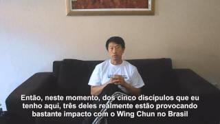 Discípulos de Grão-Mestre Benny Meng no Brasil