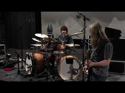 Carmine Appice and I jamming Blue Murder's Valley Of The Kings.