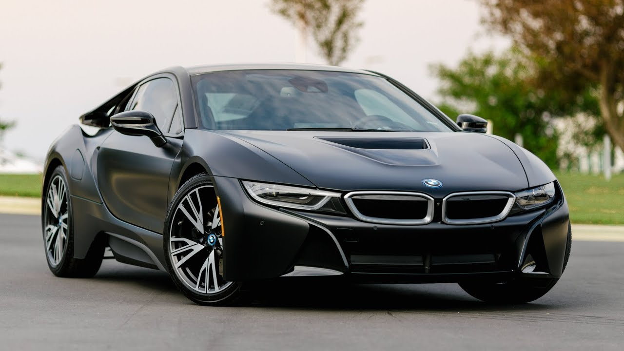 Matte Black BMW >> The Protonic Frozen Black Edition BMW I8 | In Depth Review and Walk Around ($11,000 option ...