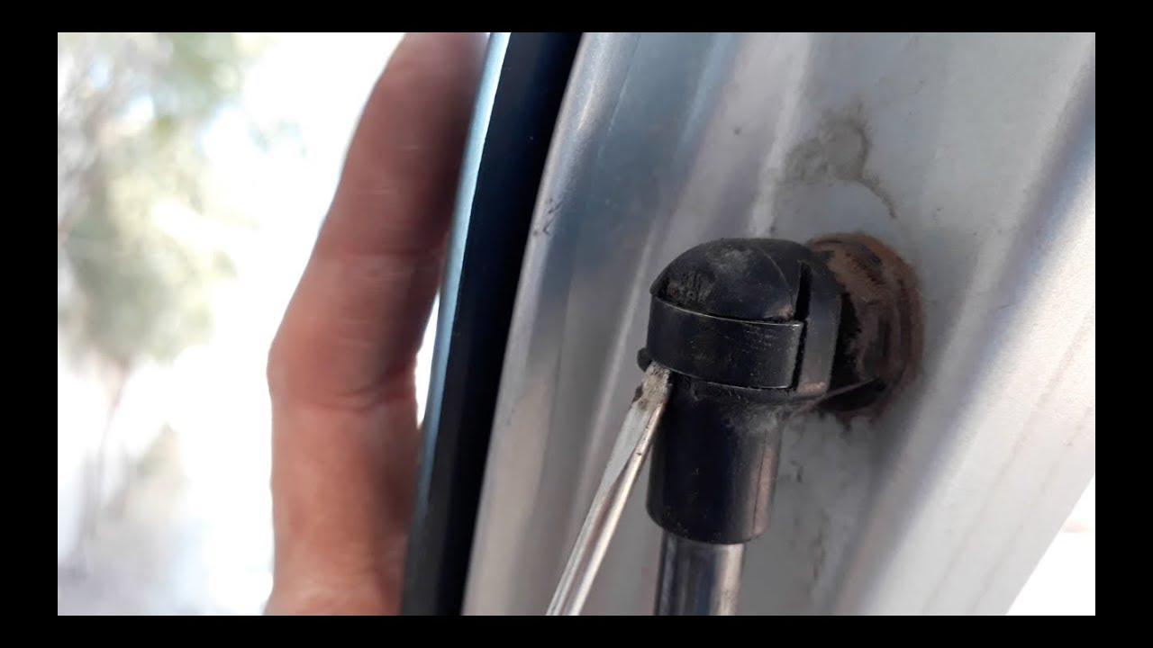 2018 Mustang Interior >> Como cambiar los amortiguadores de cajuela| Cambio de amortiguadores - YouTube