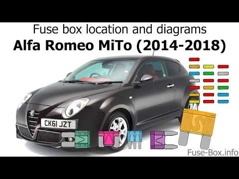 [CSDW_4250]   Fuse box location and diagrams: Alfa Romeo MiTo (2014-2018) - YouTube | Alfa Romeo Mito Fuse Box |  | YouTube