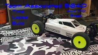 team associated rc b64d 4wd 1 10 buggy build time lapse