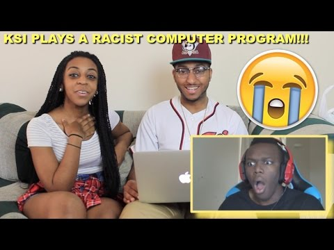 Couple Reacts : KSI Plays A Racist Computer Program Reaction!!!