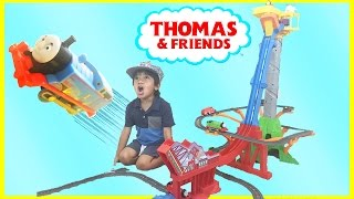 Thomas & Friends TrackMaster Sky-High Bridge Jump Playset Toy Trains for Kids Ryan ToysReview