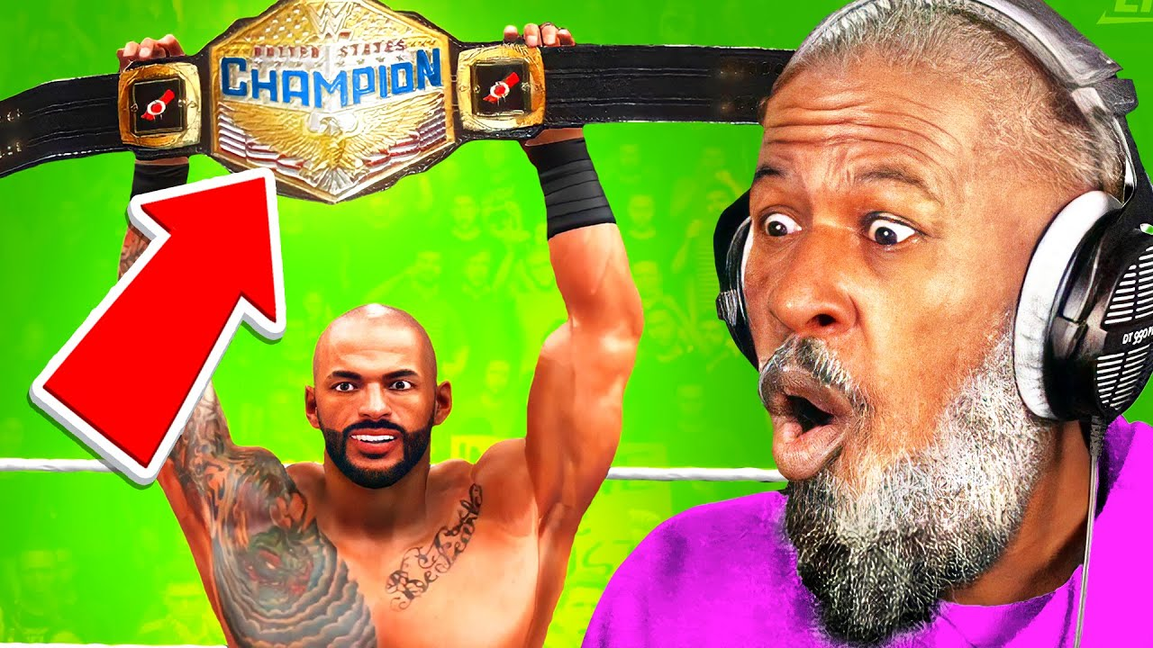 The Video Doesn't End Until Ricochet Wins A Championship!