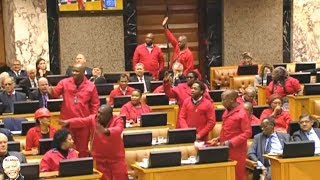 EFF Removed From Parliament Once Again