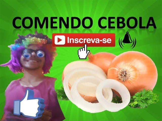 COMENDO CEBOLA