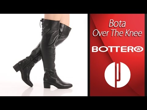b3814d017 Bota Over The Knee Feminina Bottero - Preto - 6010399212 - YouTube