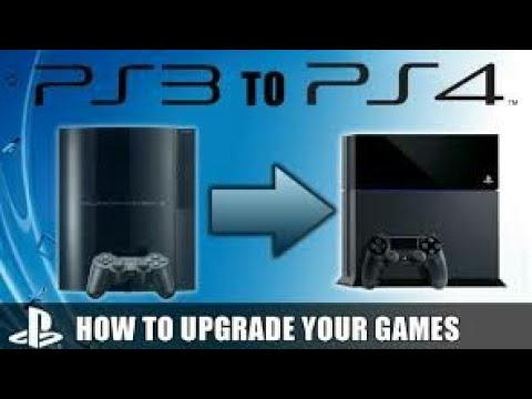 Upgrading your PS3 /super slim to PS4