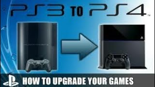 Upgrade your PS3 to PS4