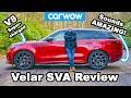 550hp Range Rover Velar Sva Review   Acceleration & Drift Test!