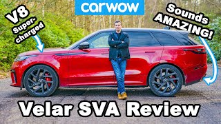 550hp Range Rover Velar SVA review - acceleration & drift test!