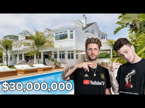 TATTOOING AT THE NEW $30,000,000 FaZe HOUSE | Feat. FaZe ADAPT