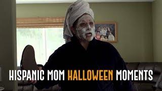 Hispanic Mom Halloween Moments   David Lopez