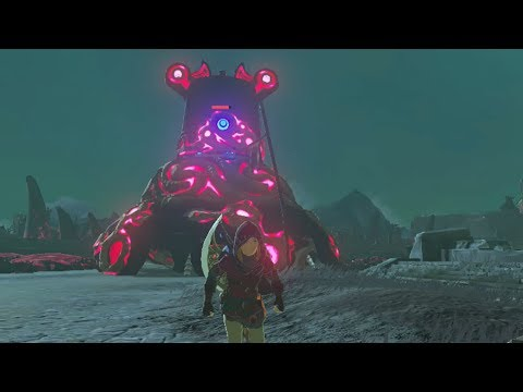 How to Parry a Giant Guardian - Zelda Breath of the Wild