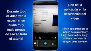 Mejorar el audio en la grabación de video [Android]