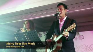Merry Bees Live Music - Singing Duo Hosting & Singing to I'm Yours by Jason Mraz