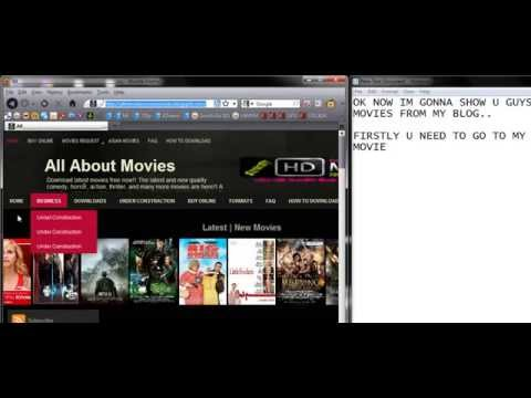 Download blogspot movies tutorial