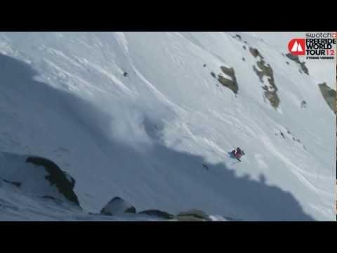 Reine Barkered -- 1st Men Ski Swatch FWT Xtreme Verbier 2012
