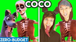 COCO WITH ZERO BUDGET! (COCO DISNEY PIXAR FUNNY PARODY BY LANKYBOX!)