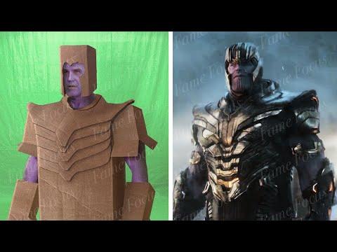 Avengers Endgame Without the VFX - Part 5 [Weta Digital VFX Breakdown]