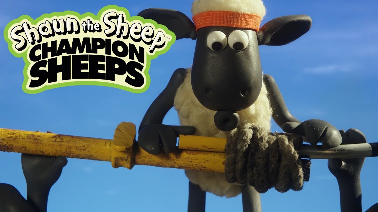 ChampionSheeps - Pole Vault [Shaun the Sheep]