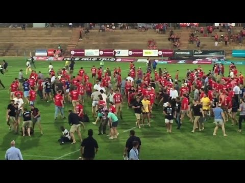 Black South Africans beaten after university rugby protest