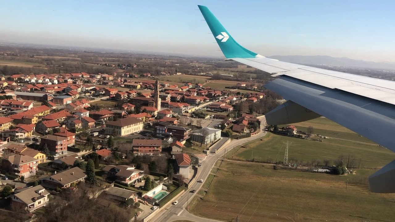Turin Airport alternative landing approach for runway 18 ...