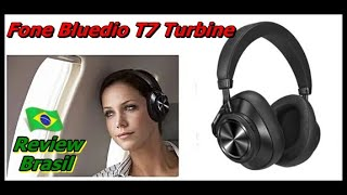 Fone Bluedio T7 Turbine - Review em Português -  Headphone Bluedio T7 - Review Bluedio T7 - FVM