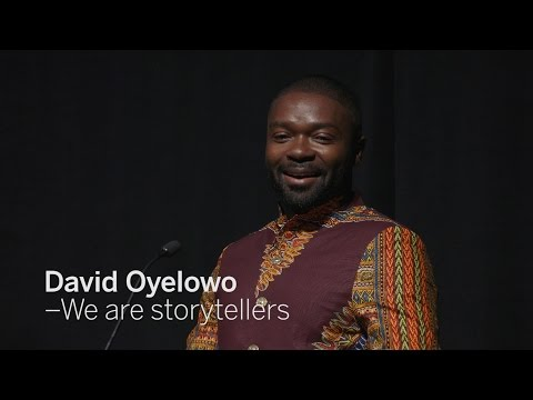 DAVID OYELOWO We are storytellers | TIFF 2016