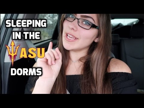 🤘Arizona State University Experience: Staying Overnight in the Dorms + Dormspiration!