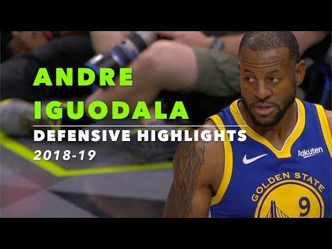 Andre Iguodala Defensive Highlights | 2018-19 | Golden State Warriors
