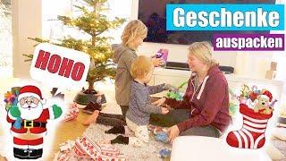 Der Nikolaus war da! 🎅🏻 | Reaktion der Kinder | Leona singt | Isabeau
