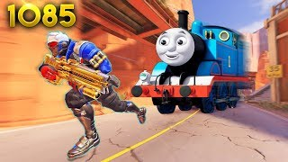 *WTF* Thomas THE TRAIN IN OW!?   Overwatch Daily Moments Ep.1085 (Funny and Random Moments)