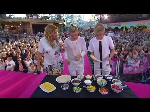 Marcus och Martinus gör tacos på scen  - Sommarkrysset (TV4)