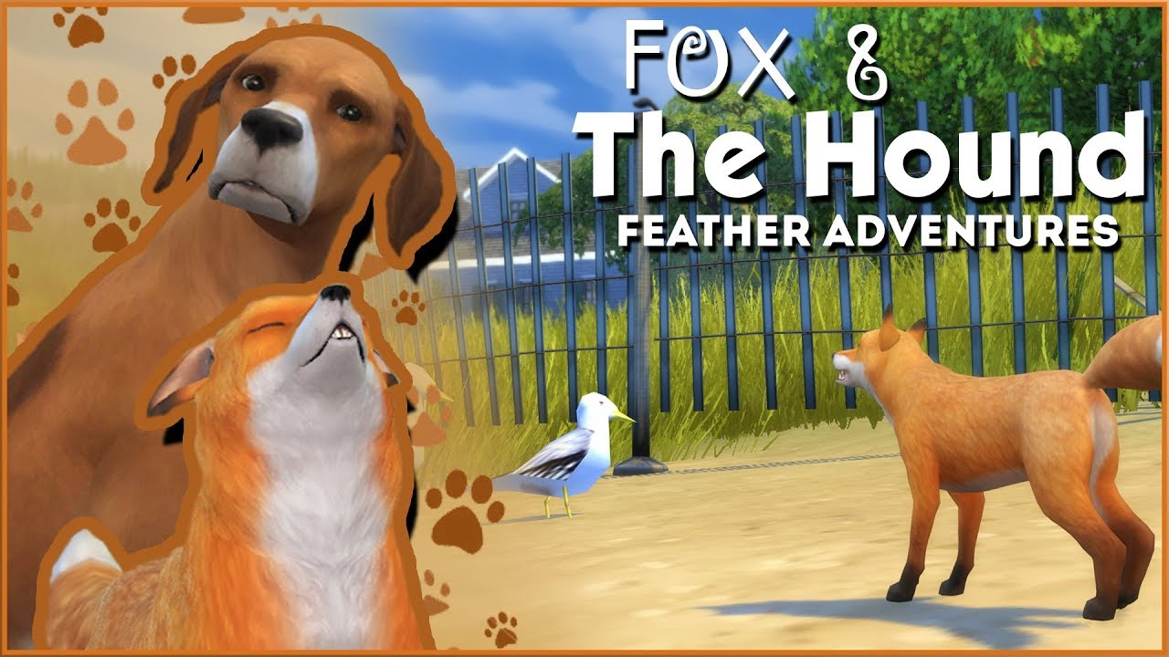 A New Fox Friend & Feather Quest Frenzy!! 🦊🐶 Sims 4: Fox & The Hound •  Feather Quest • Episode #1