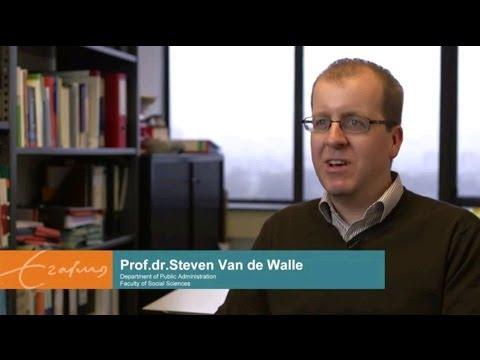 Public Administration PhD research Erasmus University Rotterdam | Prof. dr. Steven Van de Walle