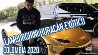 Lamborghini huracán Colombia, Lamborghini de Kevin Roldán,  Kevin Roldán pinta su Lamborghini 2020