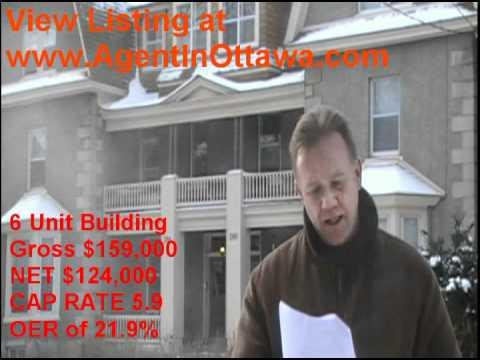 6 Unit Building for Sale Ottawa - Sandy Hill