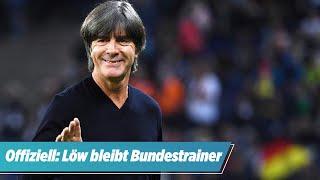 Offizielle DFB-Mitteilung: Jogi Löw bleibt Bundestrainer | BILD-Sondersendung