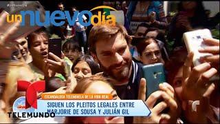 ¡¿Julián Gil descubrió que su hijo no es suyo?! | Un Nuevo Día | Telemundo