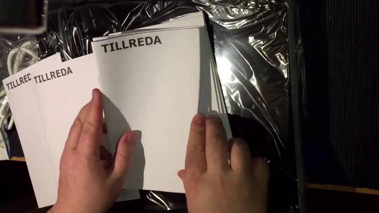 unboxing Tillreda piano cottura a induzione portatile Ikea - YouTube