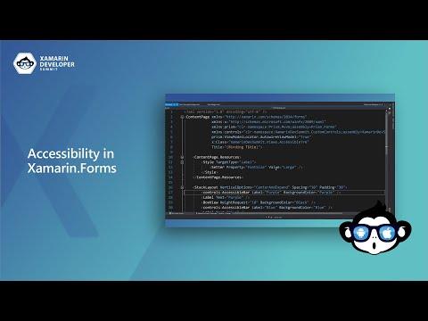 Accessibility in Xamarin.Forms   Xamarin Developer Summit