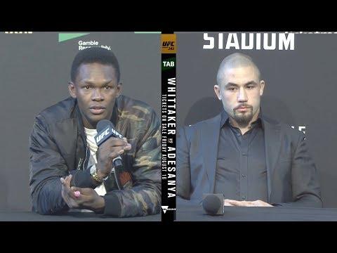 UFC 243: Пресс-конференция