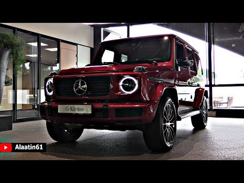 Mercedes G Class G500 AMG 2019 NEW Full Review Interior