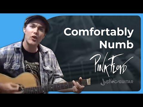 Comfortably Numb [1/4] - Pink Floyd   JustinGuitar.com