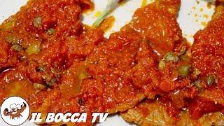 347 - Fettine alla pizzaiola..ce ne vole 'na carriola! (secondo piatto di carne facile e veloce)